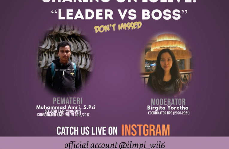 "Live Instagram "" LEADER VS BOSS"""